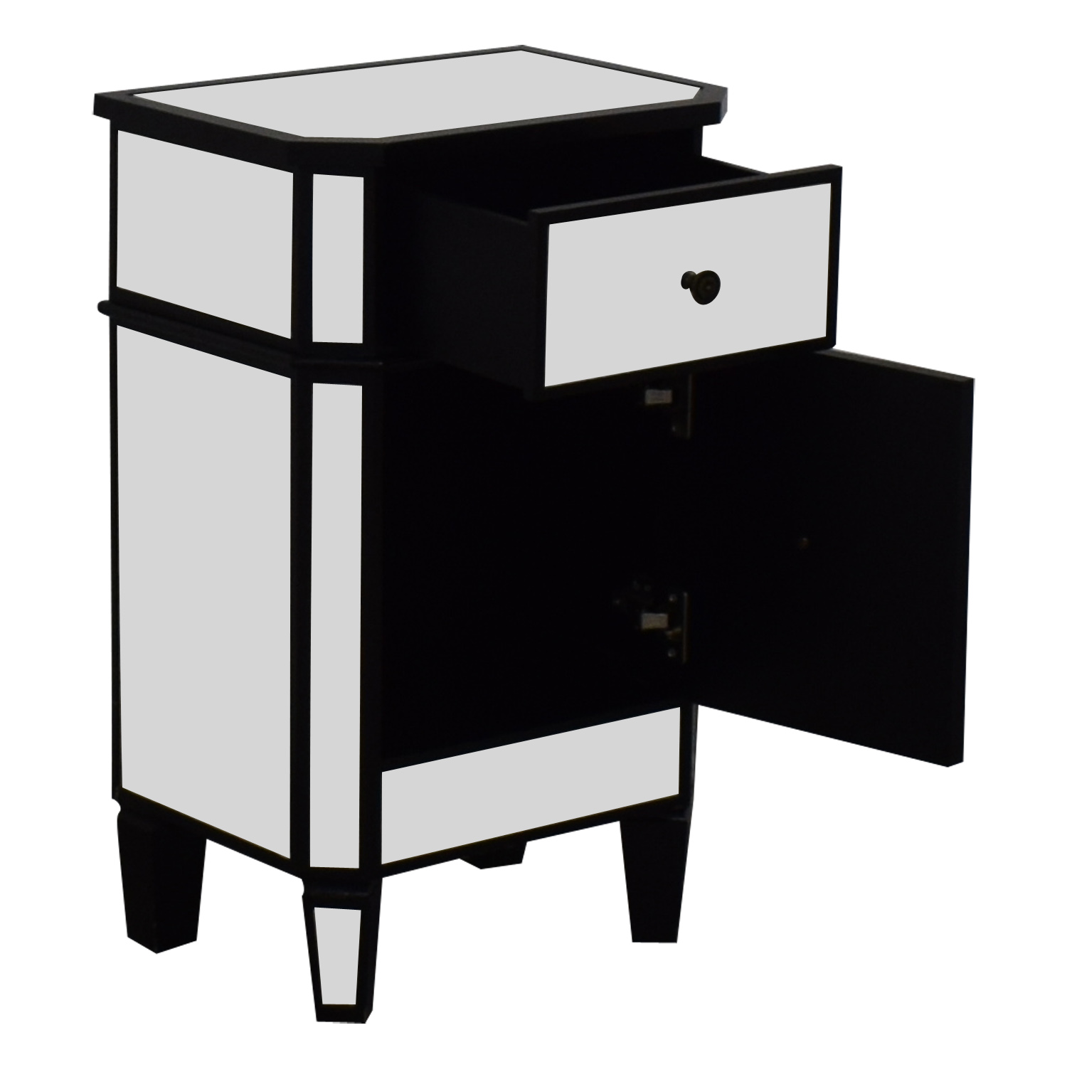 Mirrored Nightstand dimensions