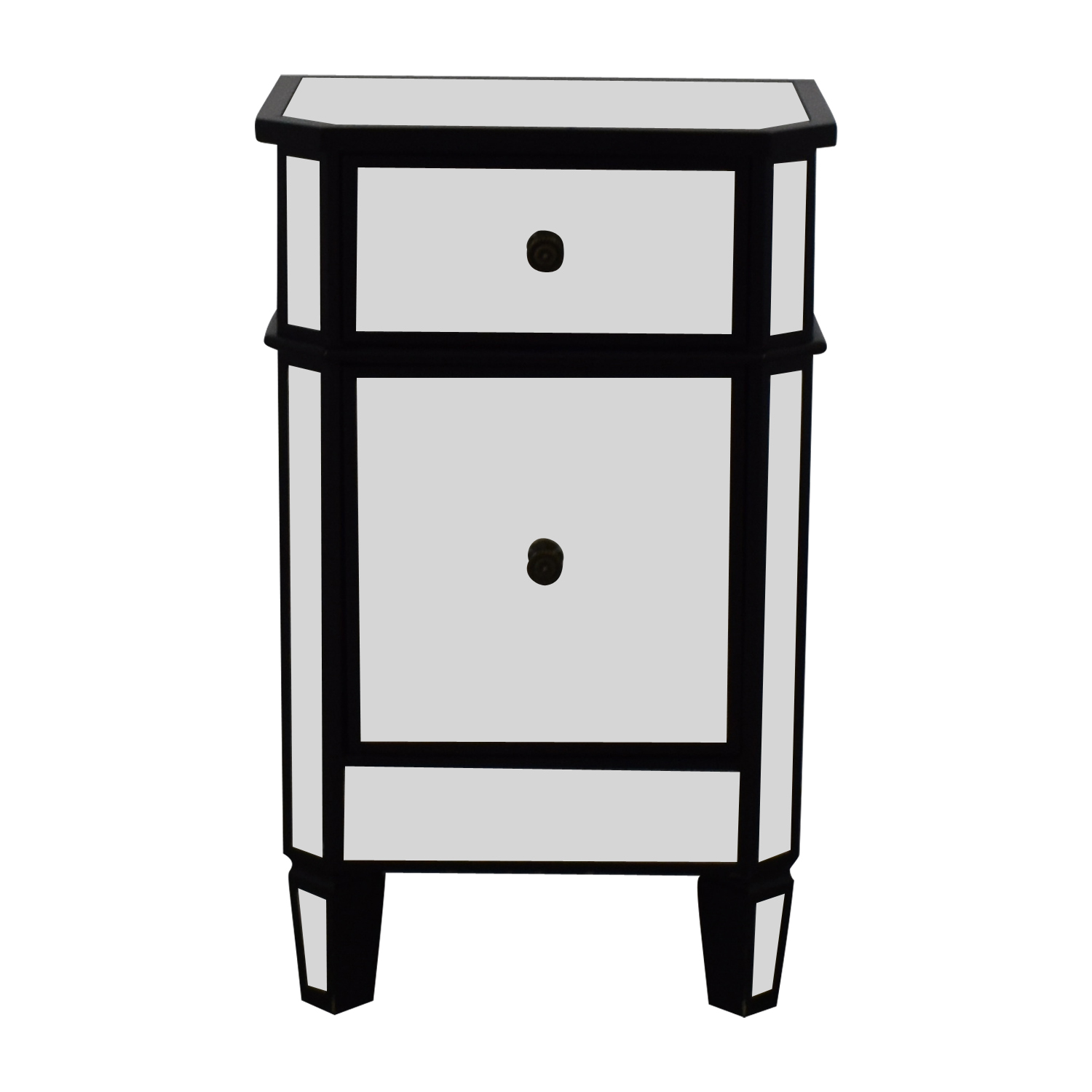 Mirrored Nightstand End Tables