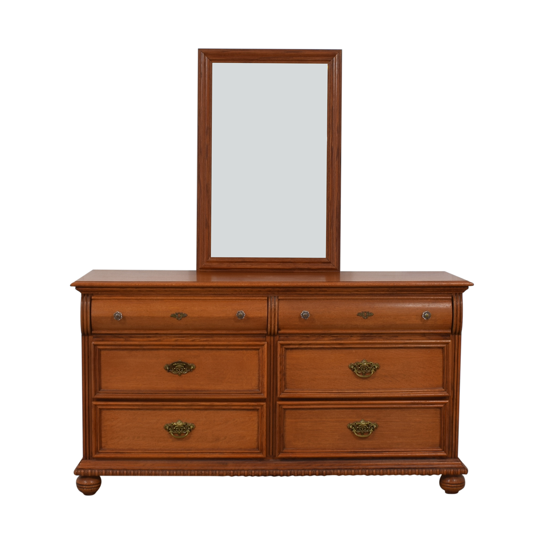 shop Lexington Furniture Lexington Furniture Six-Drawer Dresser With Mirror online
