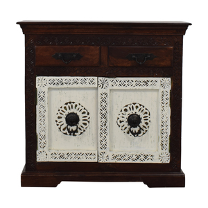 Wood Four-Drawer TV Stand on sale
