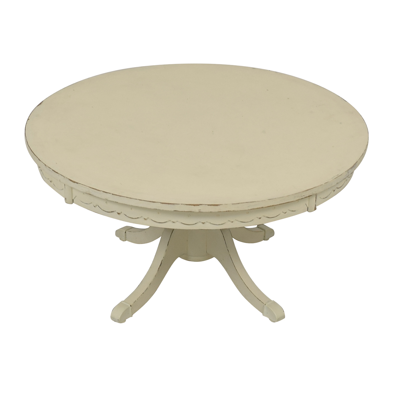 shop Rustic Cream Coffee Table
