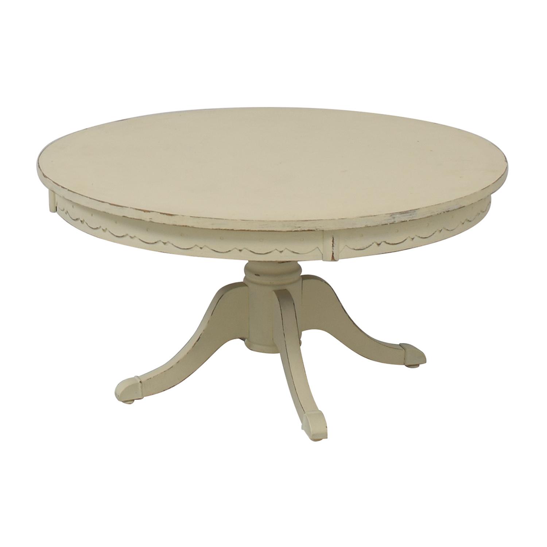 buy Rustic Cream Coffee Table  Coffee Tables
