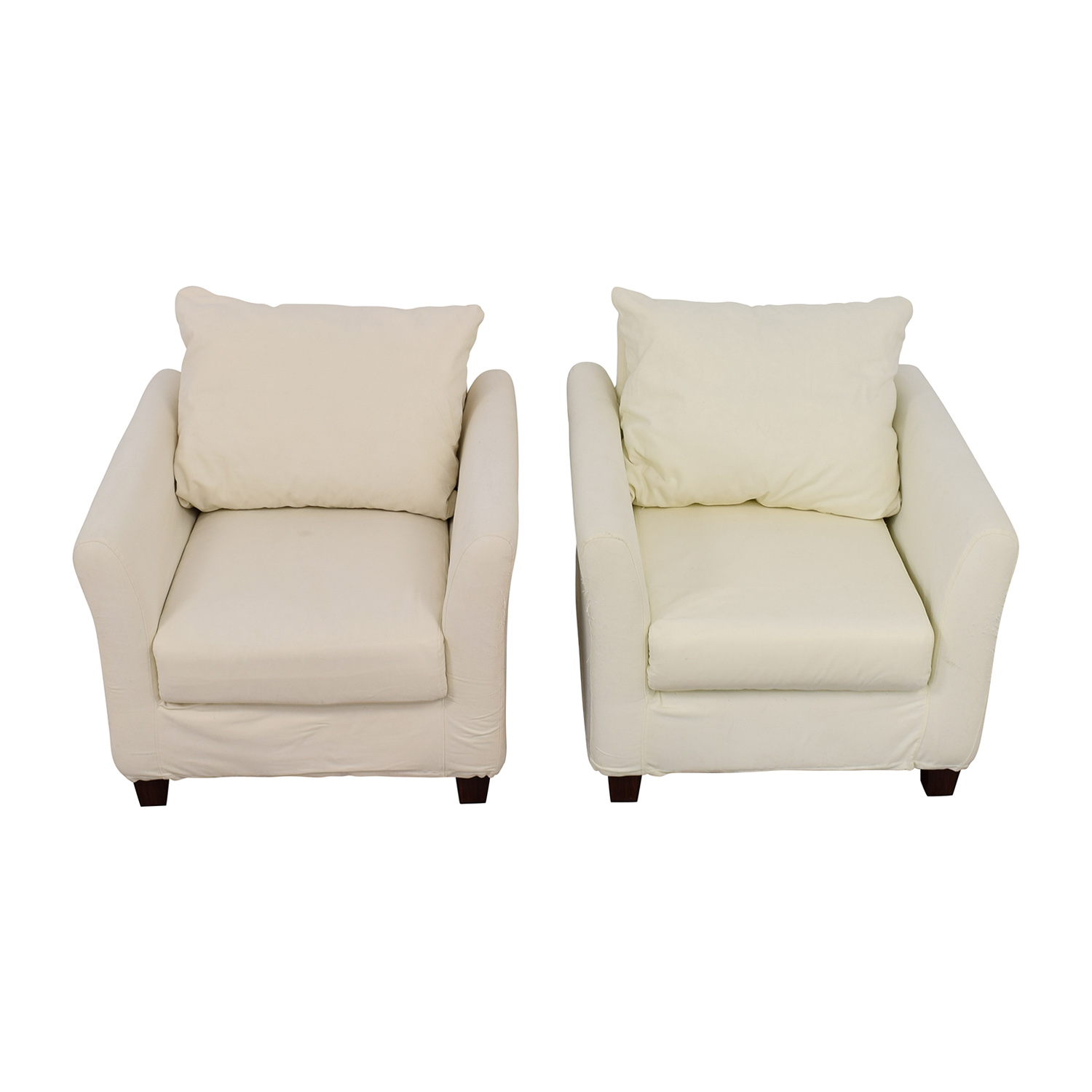 White Accent Chairs Used.90 Off World Market World Market White Accent Chairs Chairs