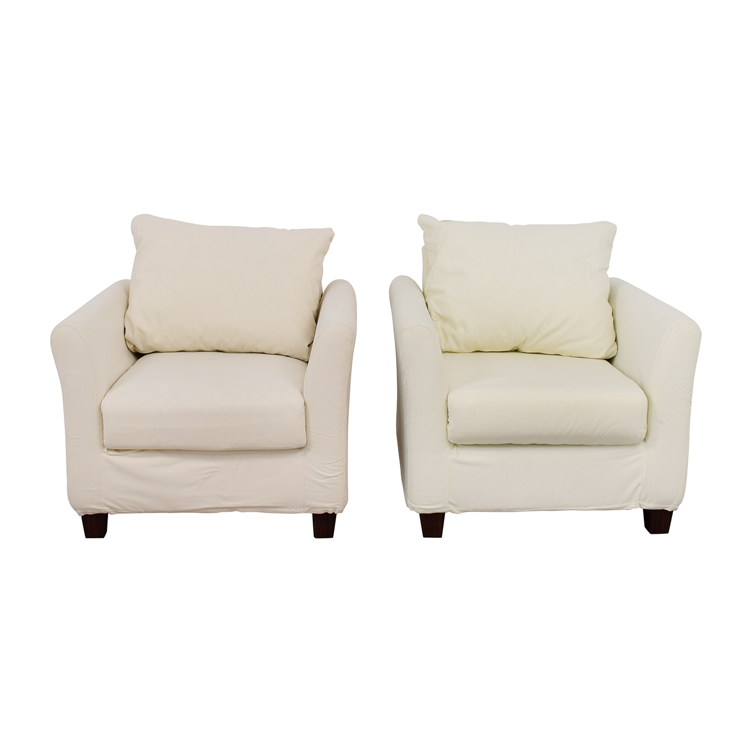World Market World Market White Accent Chairs