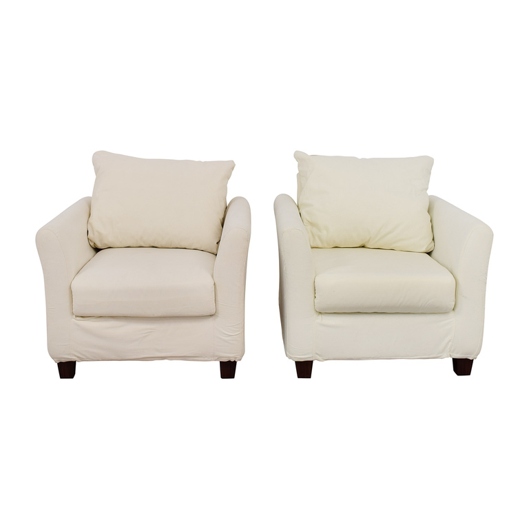 World Market World Market White Accent Chairs on sale