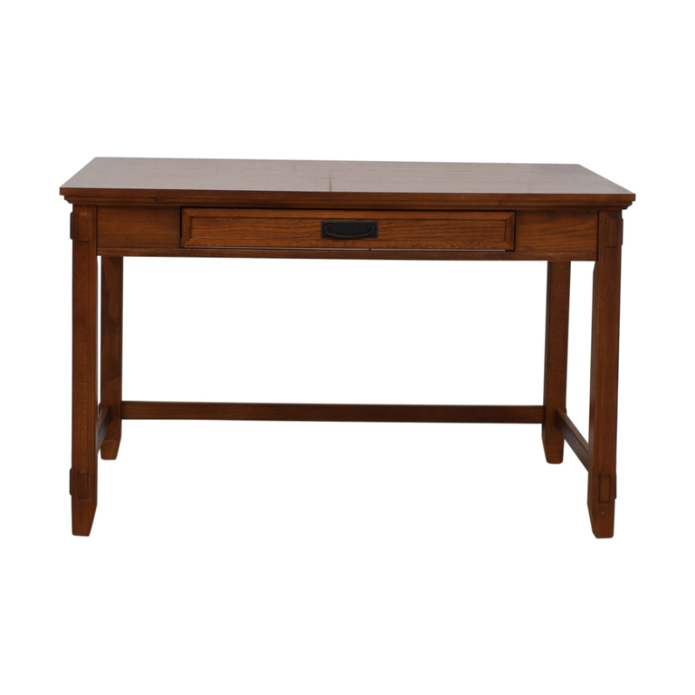 buy Pull Out Keyboard Tray Wood Desk  Tables