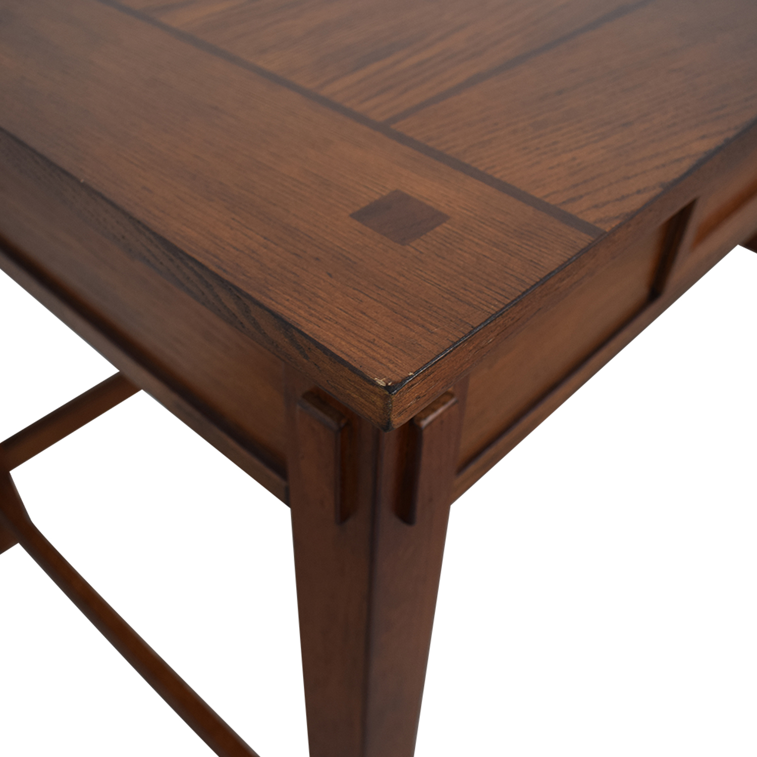 Pull Out Keyboard Tray Wood Desk used