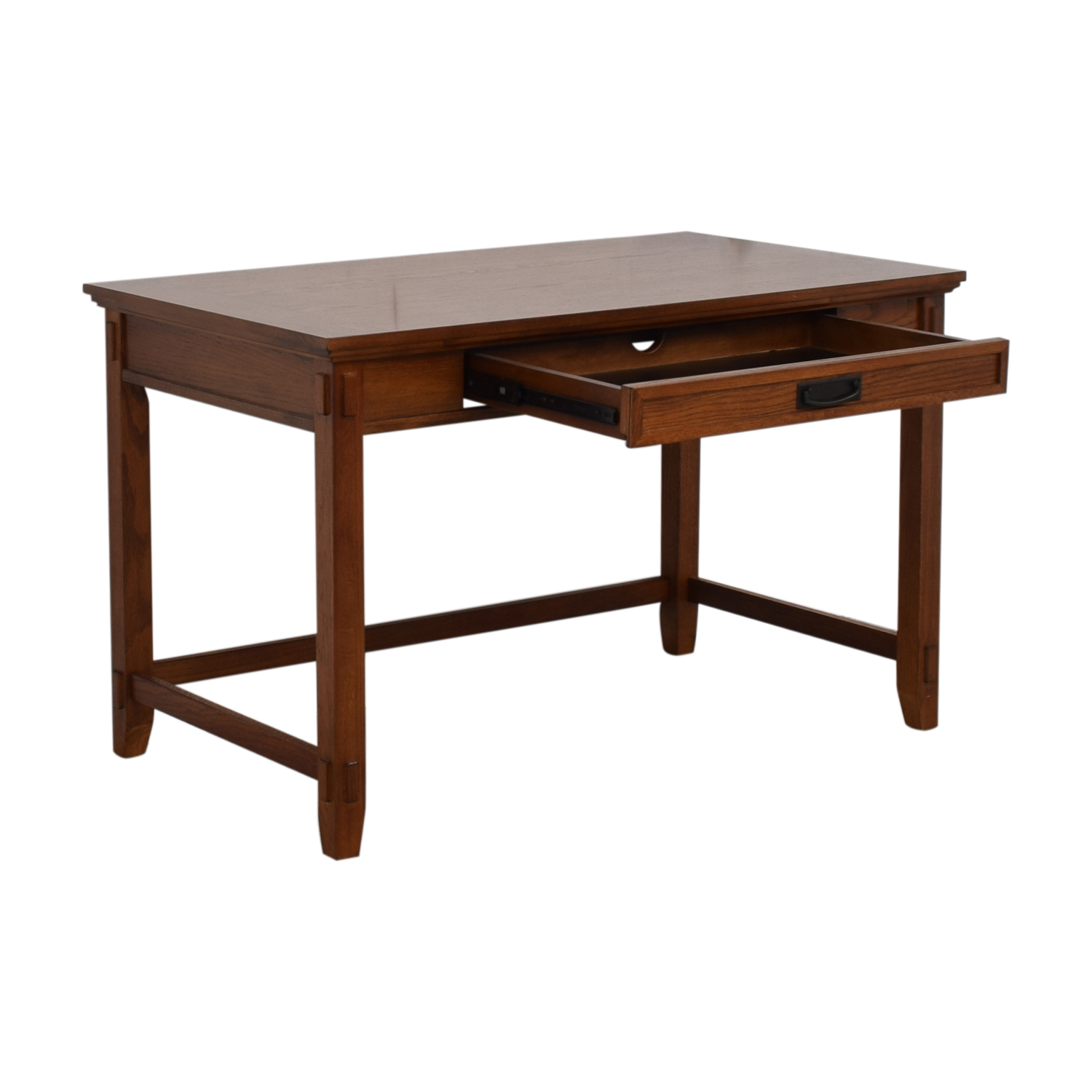 shop  Pull Out Keyboard Tray Wood Desk online