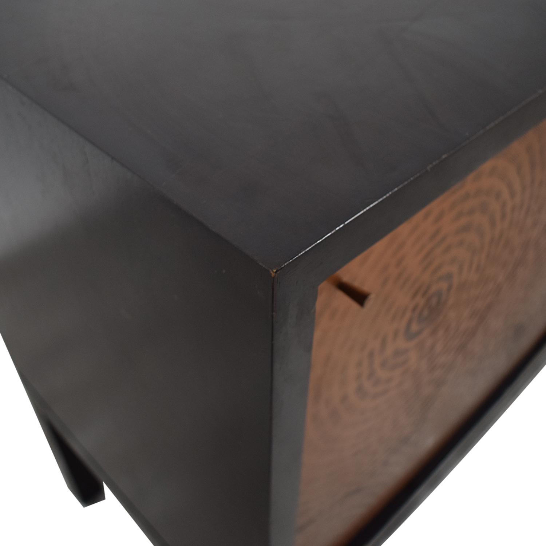 buy Crate & Barrel Cirque Three-Door Sideboard Crate & Barrel Storage