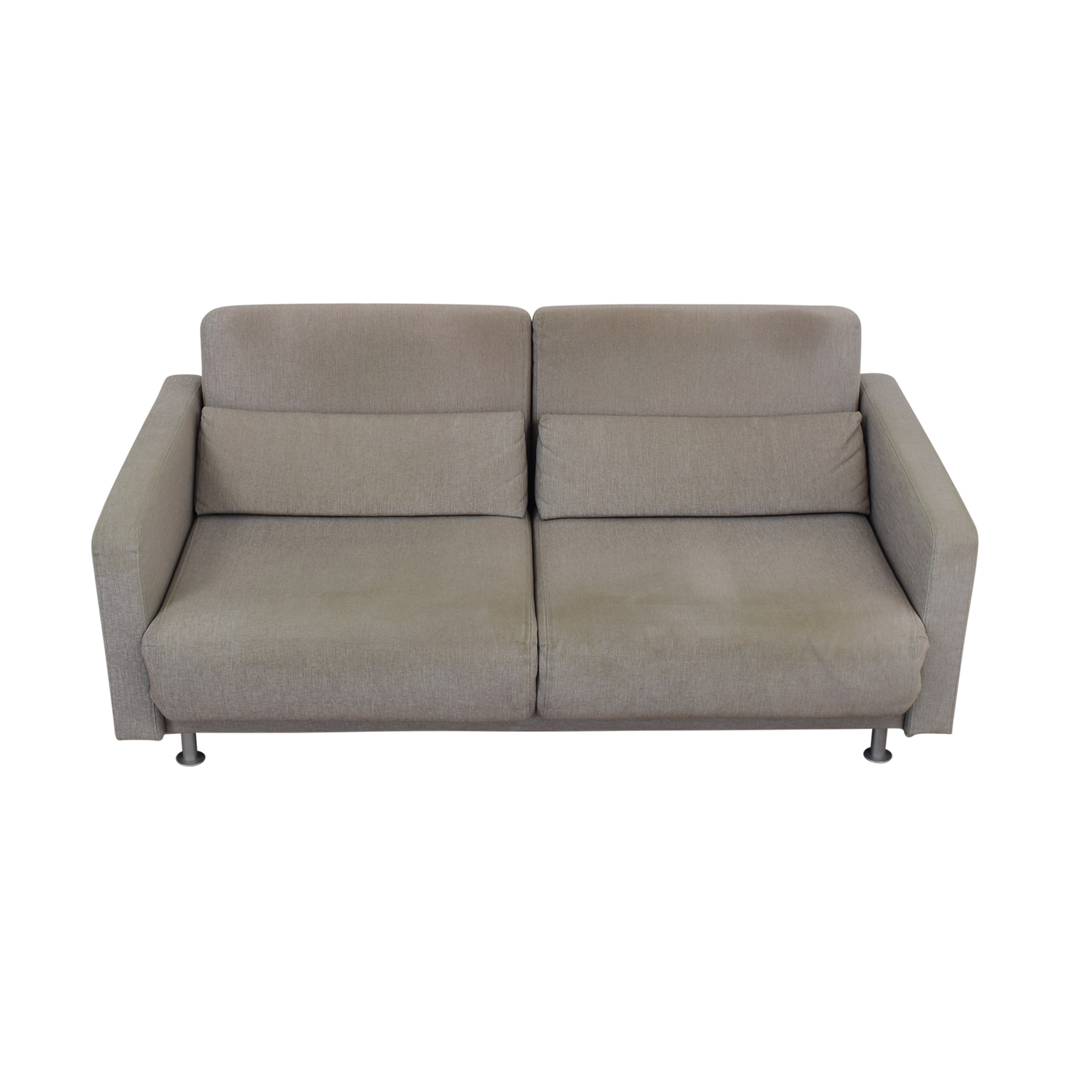 82% OFF - BoConcept BoConcept Melo Grey Sofa Queen Bed / Sofas