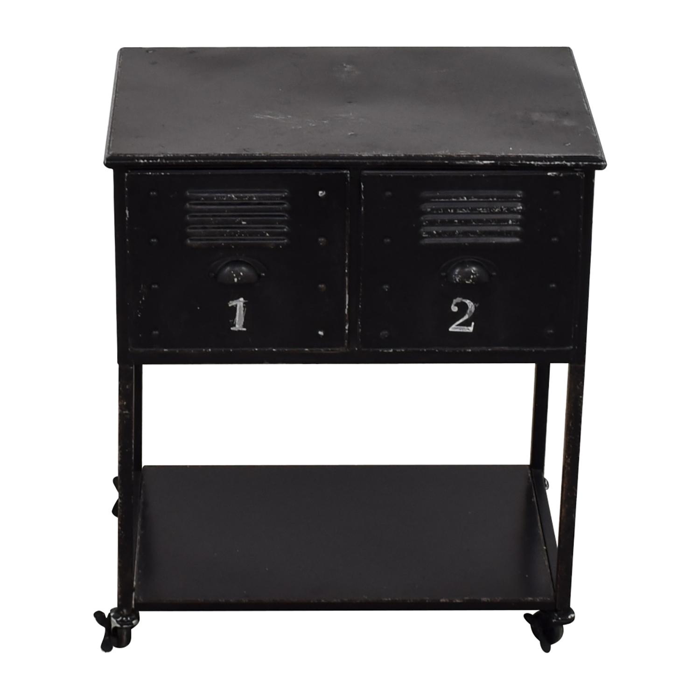 Industrial Metal Retro Locker Cabinet
