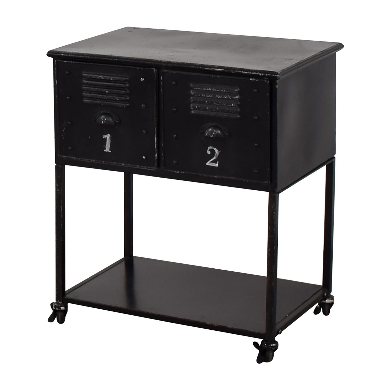 Industrial Metal Retro Locker Cabinet on sale