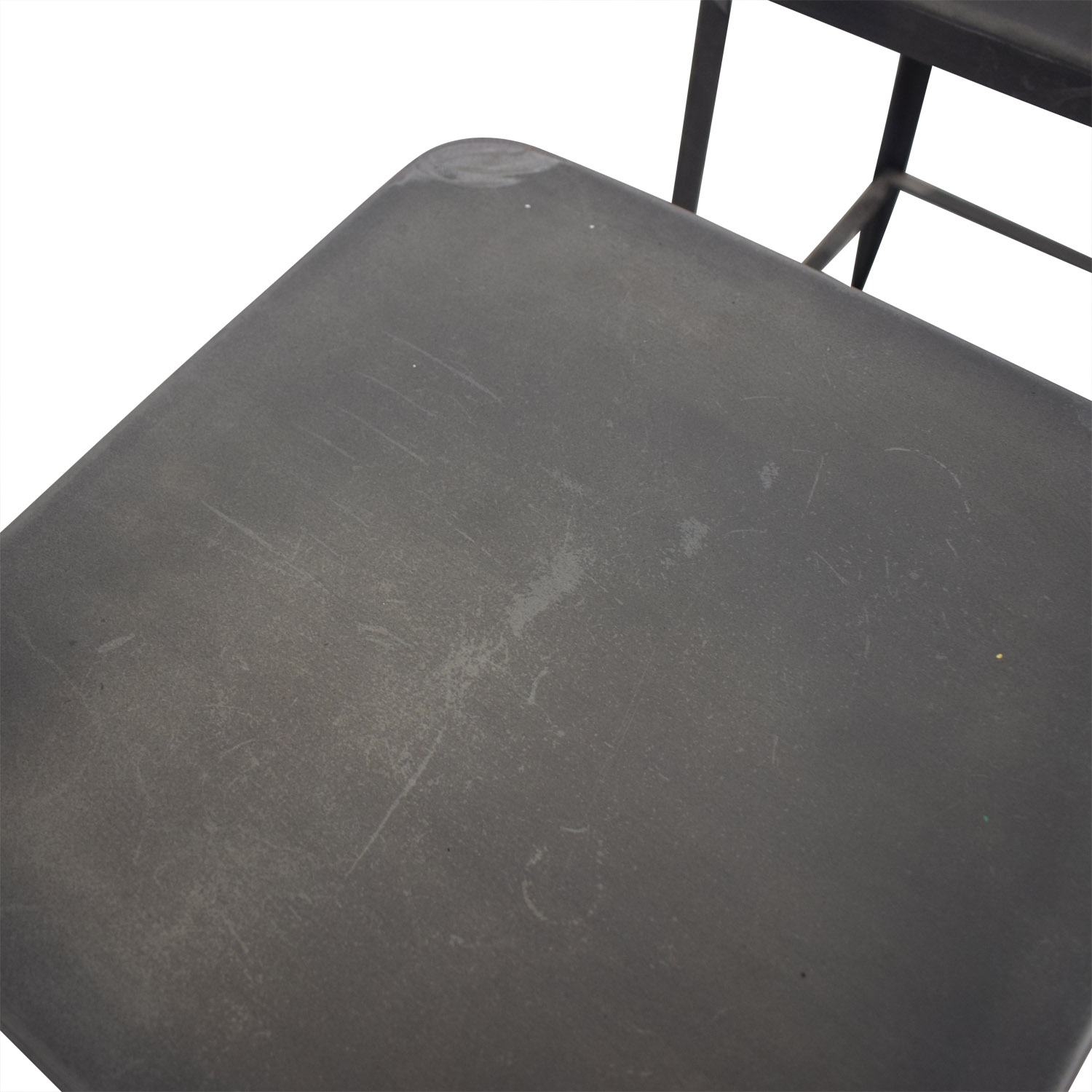 CB2 CB2 Flint Steel Counter Stools on sale