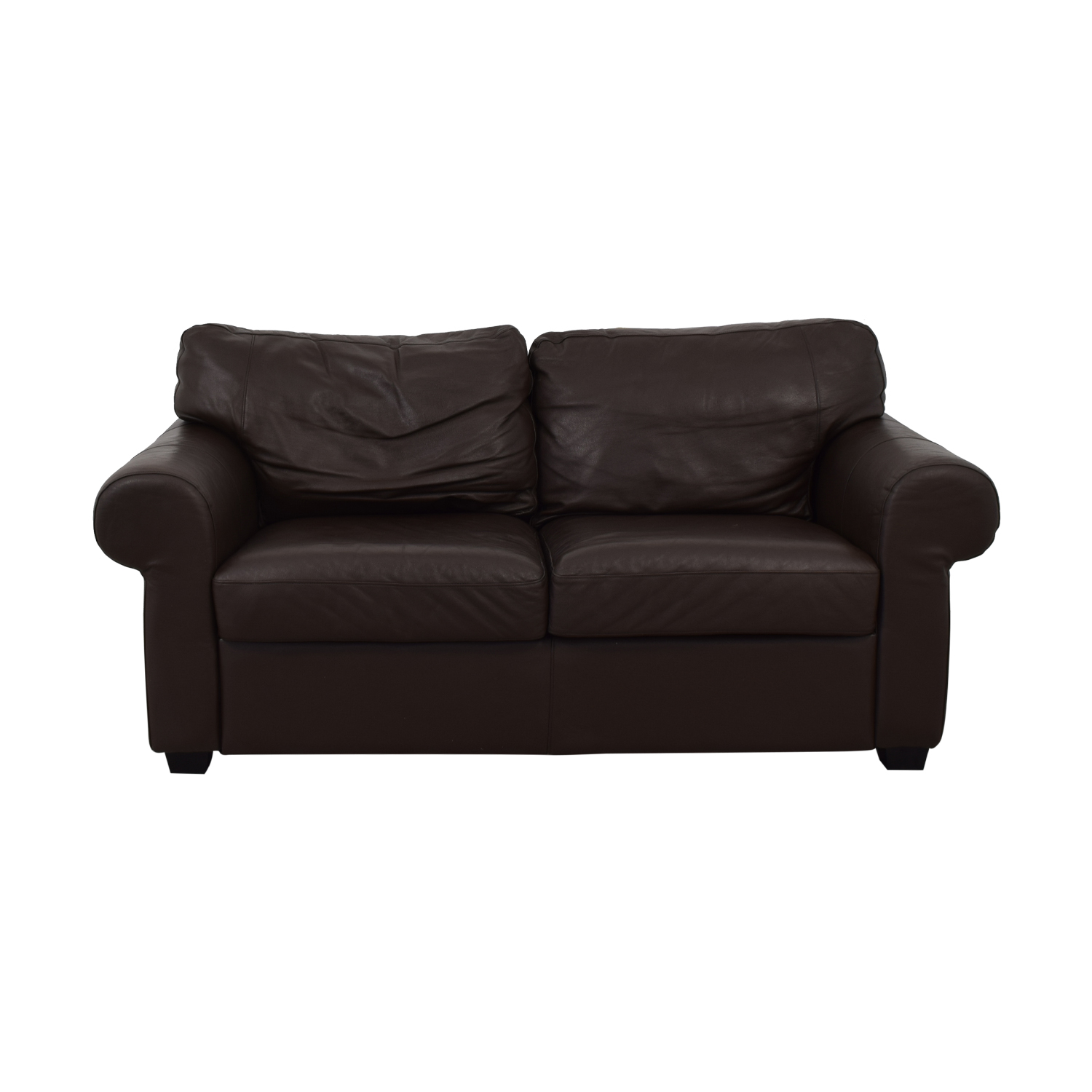 Ektorp Leather Loveseat / Classic Sofas
