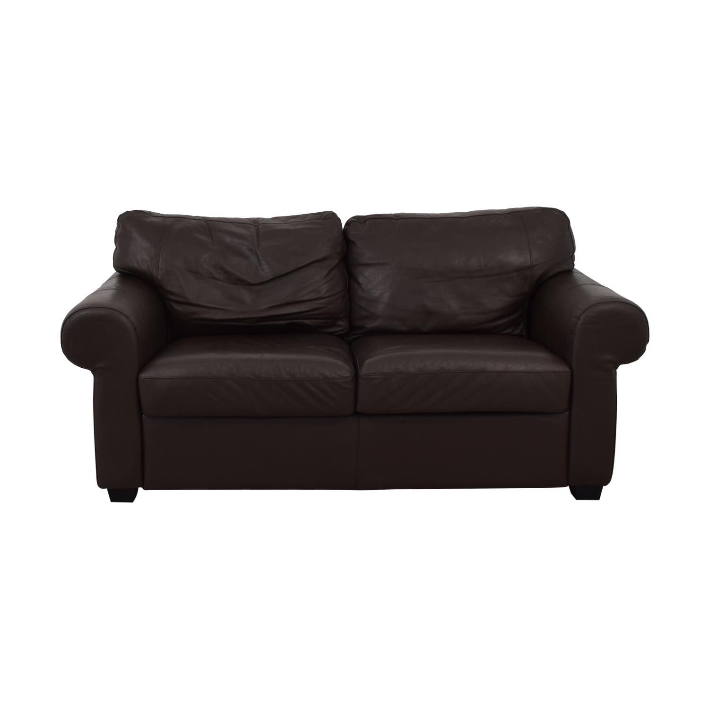 Ektorp Leather Loveseat / Classic Sofas