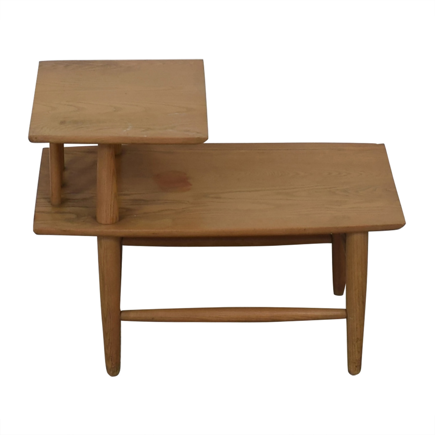 buy  Natural Wood Two-Level Coffee table online