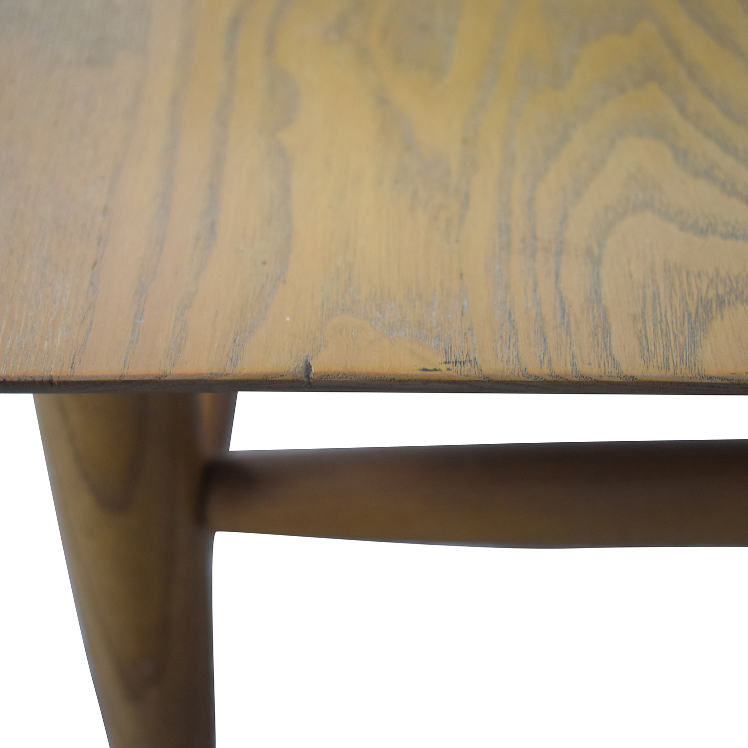 Natural Wood Two-Level Coffee table second hand