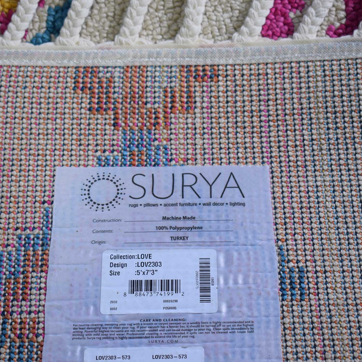 Surya Love Multi-Color Rug / Rugs