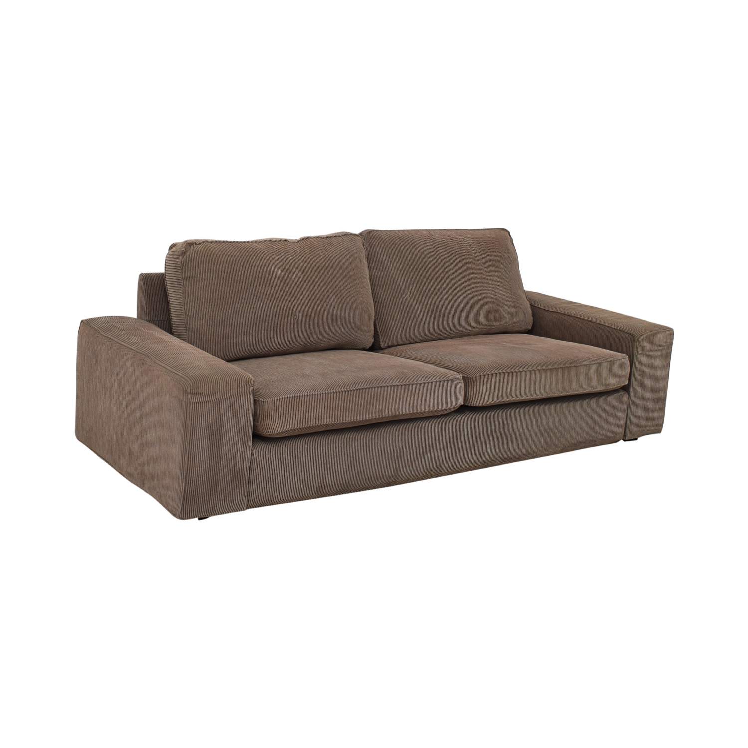 Pleasing 76 Off Ikea Ikea Kivik Corduroy Sofa Sofas Gmtry Best Dining Table And Chair Ideas Images Gmtryco