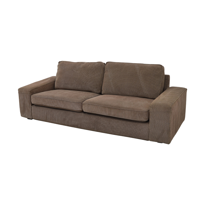 76% OFF - IKEA IKEA Kivik Corduroy Sofa / Sofas