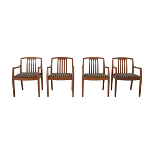 Gunlocke Company Gunlocke Company Upholstered Dining Chairs price