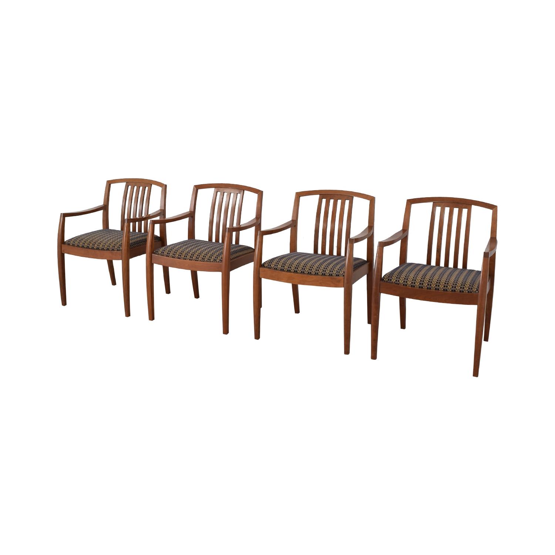Gunlocke Company Gunlocke Company Upholstered Dining Chairs on sale