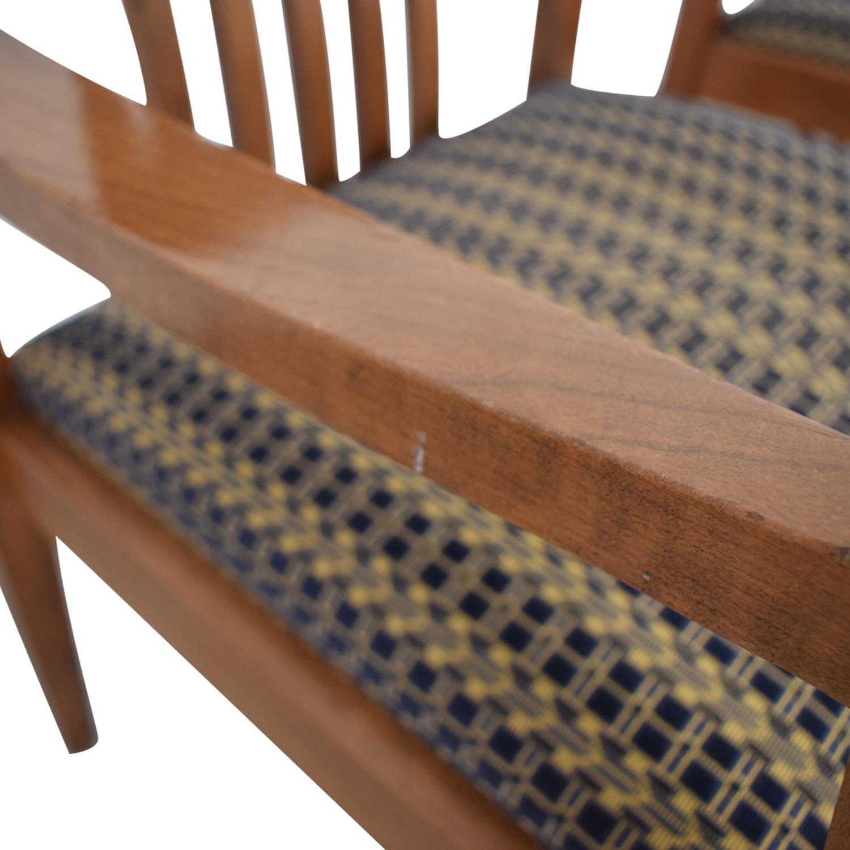 Gunlocke Company Gunlocke Company Upholstered Dining Chairs Chairs