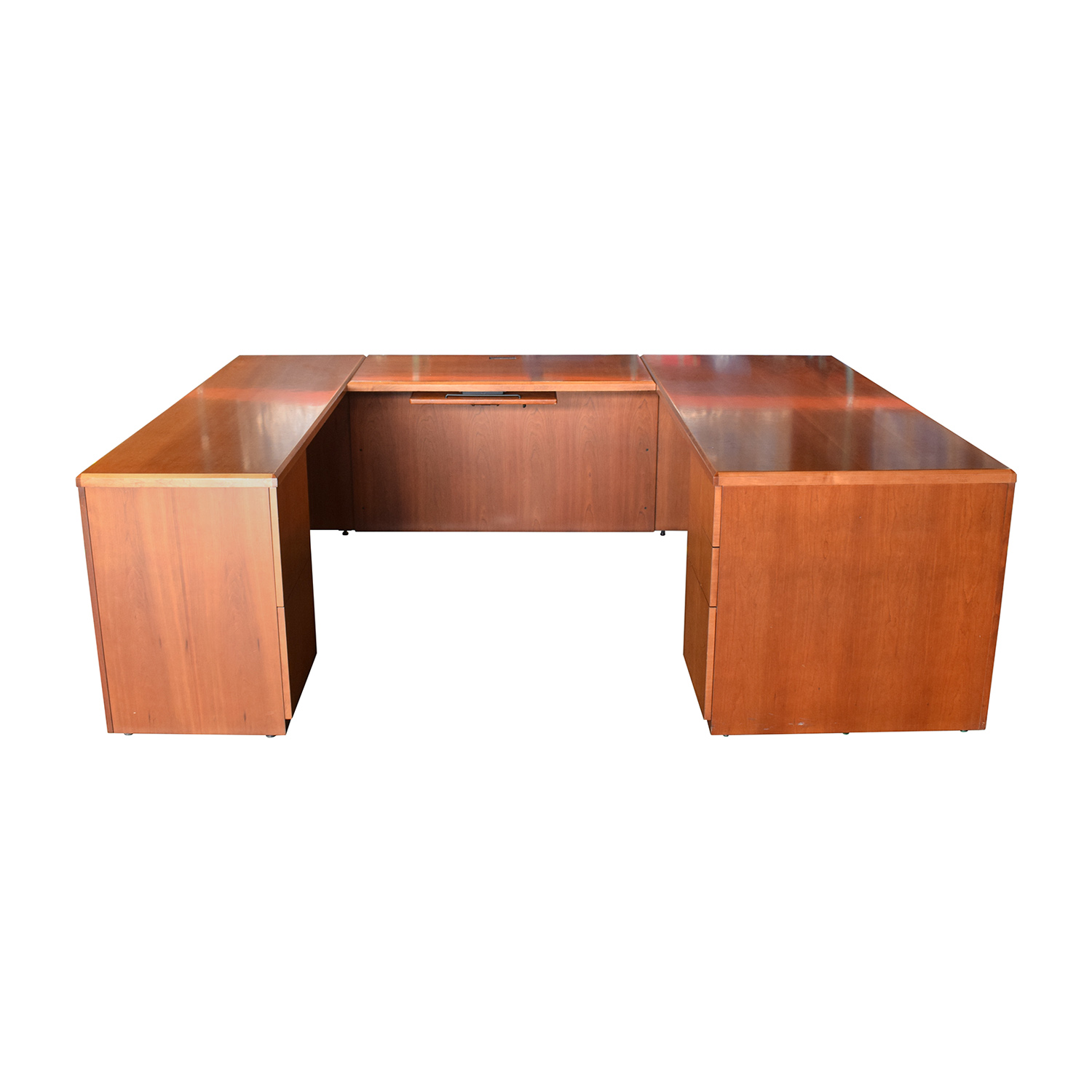 Gunlocke Company Gunlocke Company U-Shaped Desk nj