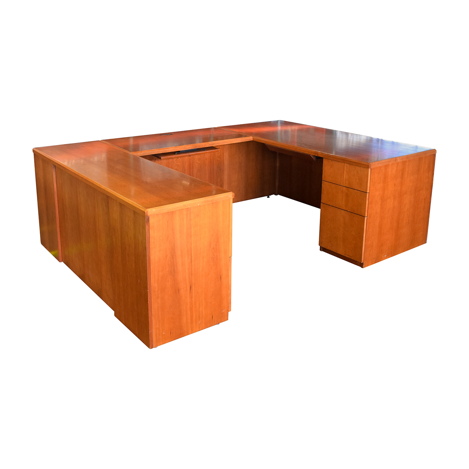 Gunlocke Company Gunlocke Company U-Shaped Desk used
