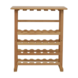 Natural Wood Wine Rack coupon