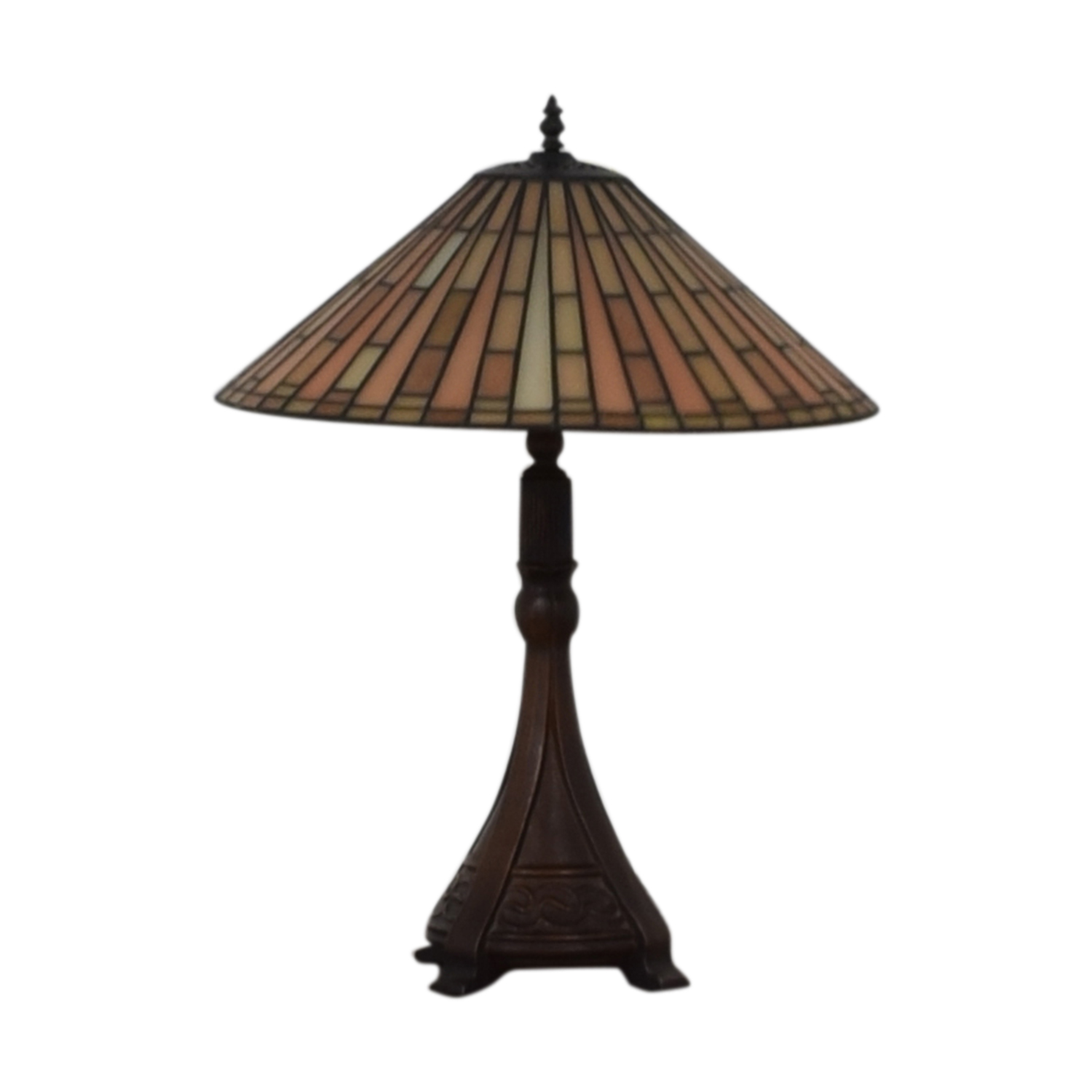 Tiffany Style Table Lamp Decor