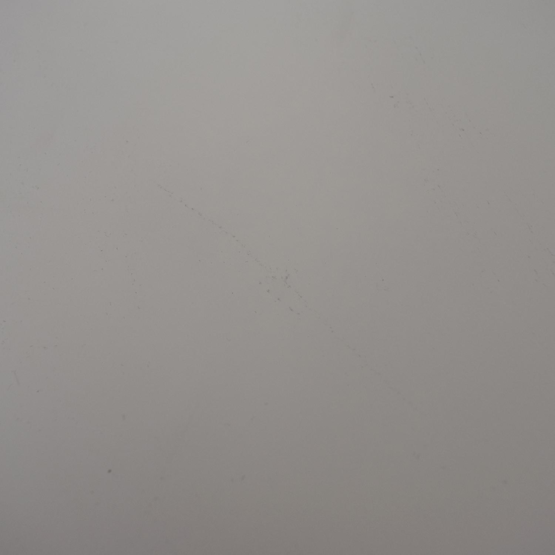 Copper Grove Copper Grove Kurdica White Two-Drawer Accent Table white