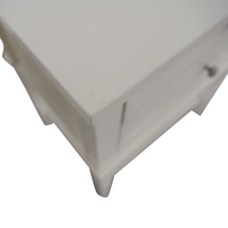 Copper Grove Copper Grove Kurdica White Two-Drawer Accent Table on sale