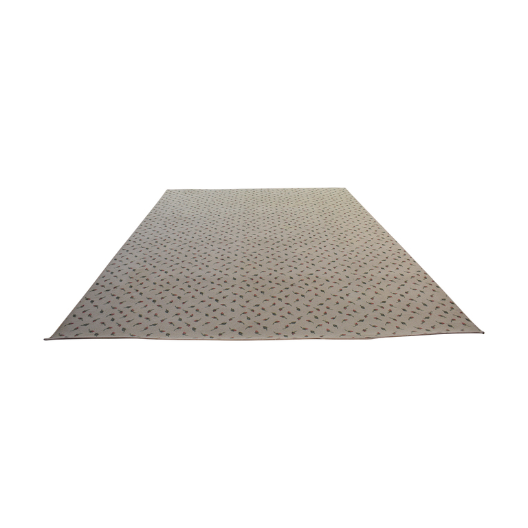 shop ABC Carpet & Home ABC Carpet & Home Beige with Pink Roses Rug online