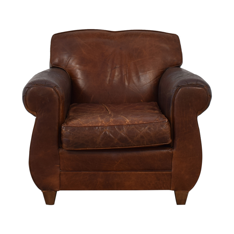 Restoration Hardware Restoration Hardware Mitchell Gold Accent Chair second hand