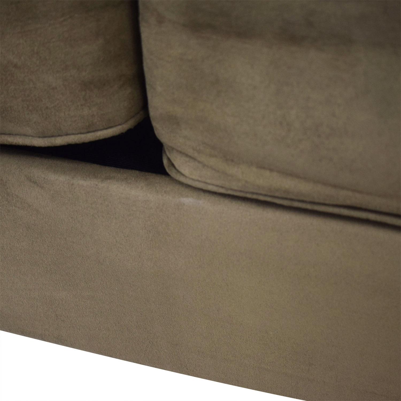 Taft Furniture Modern Green Sofa second hand