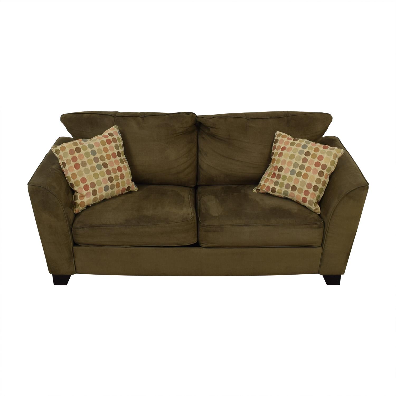 buy Taft Furniture Modern Green Sofa