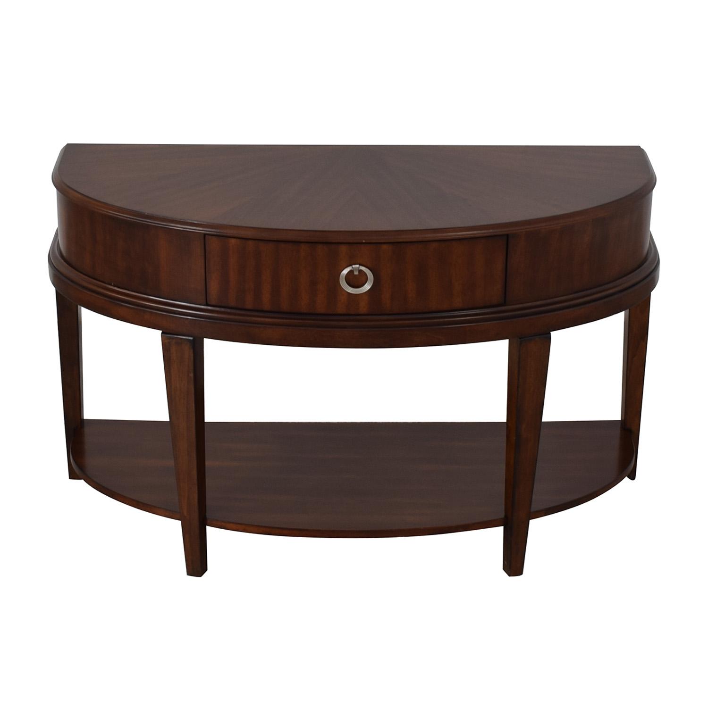 Terrific 62 Off Havertys Havertys Tatiana Sofa Table Tables Download Free Architecture Designs Scobabritishbridgeorg