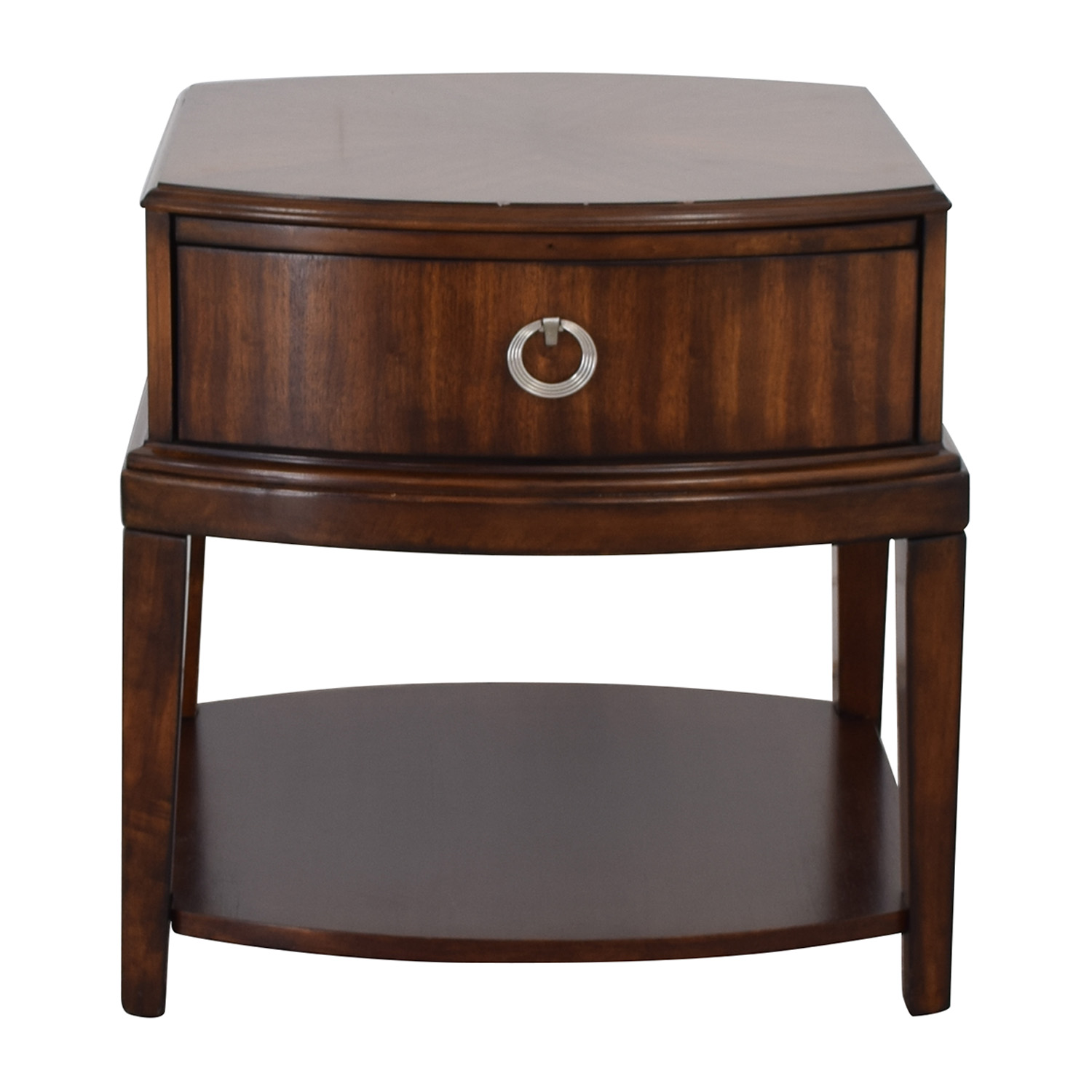 shop Havertys Wood Single Drawer End Table Havertys End Tables