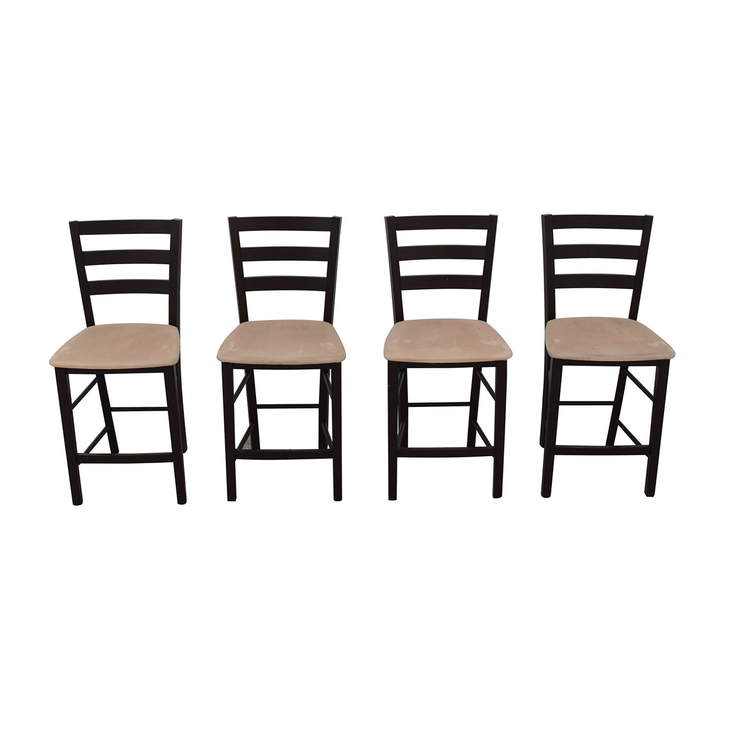 Macy's Macy's Cafe Latte Counter Height Bar Stools on sale