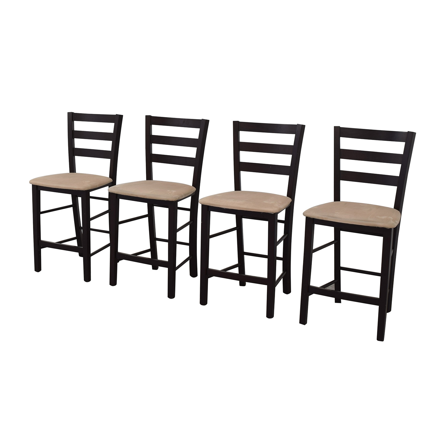 Remarkable 84 Off Macys Macys Cafe Latte Counter Height Bar Stools Chairs Machost Co Dining Chair Design Ideas Machostcouk