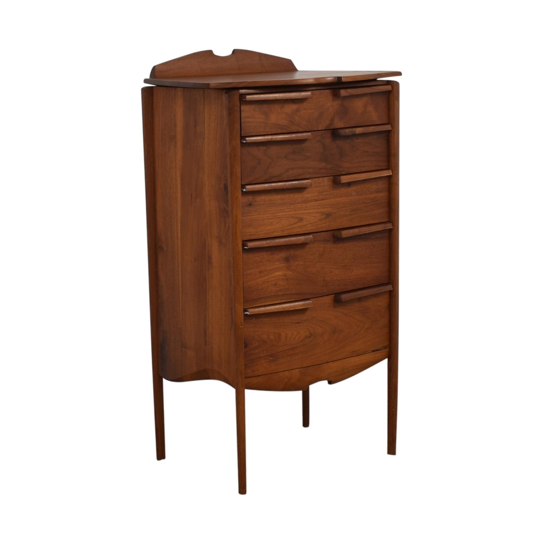 Mid-Century Five-Drawer Tall Dresser price