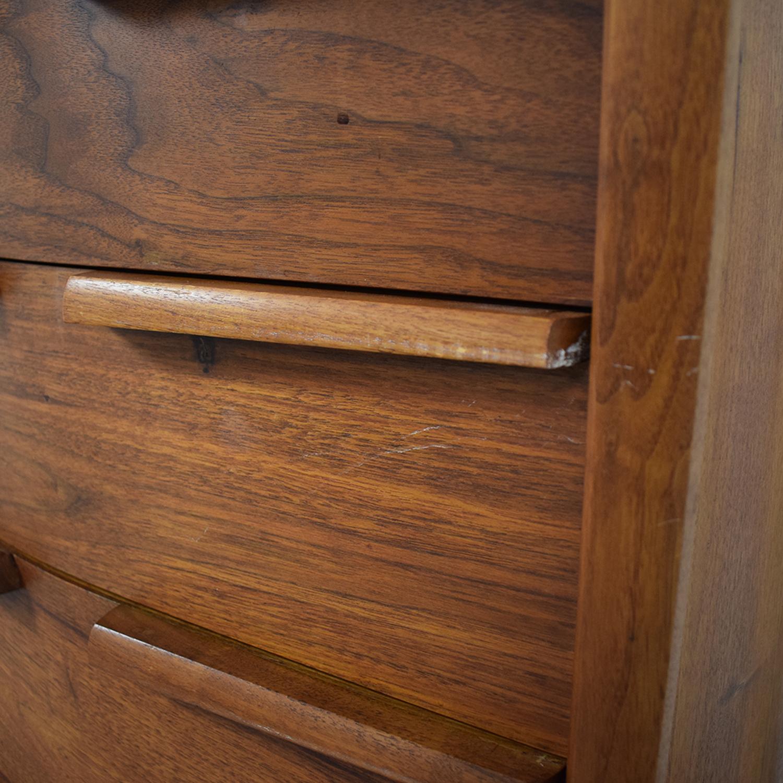 Mid-Century Five-Drawer Tall Dresser