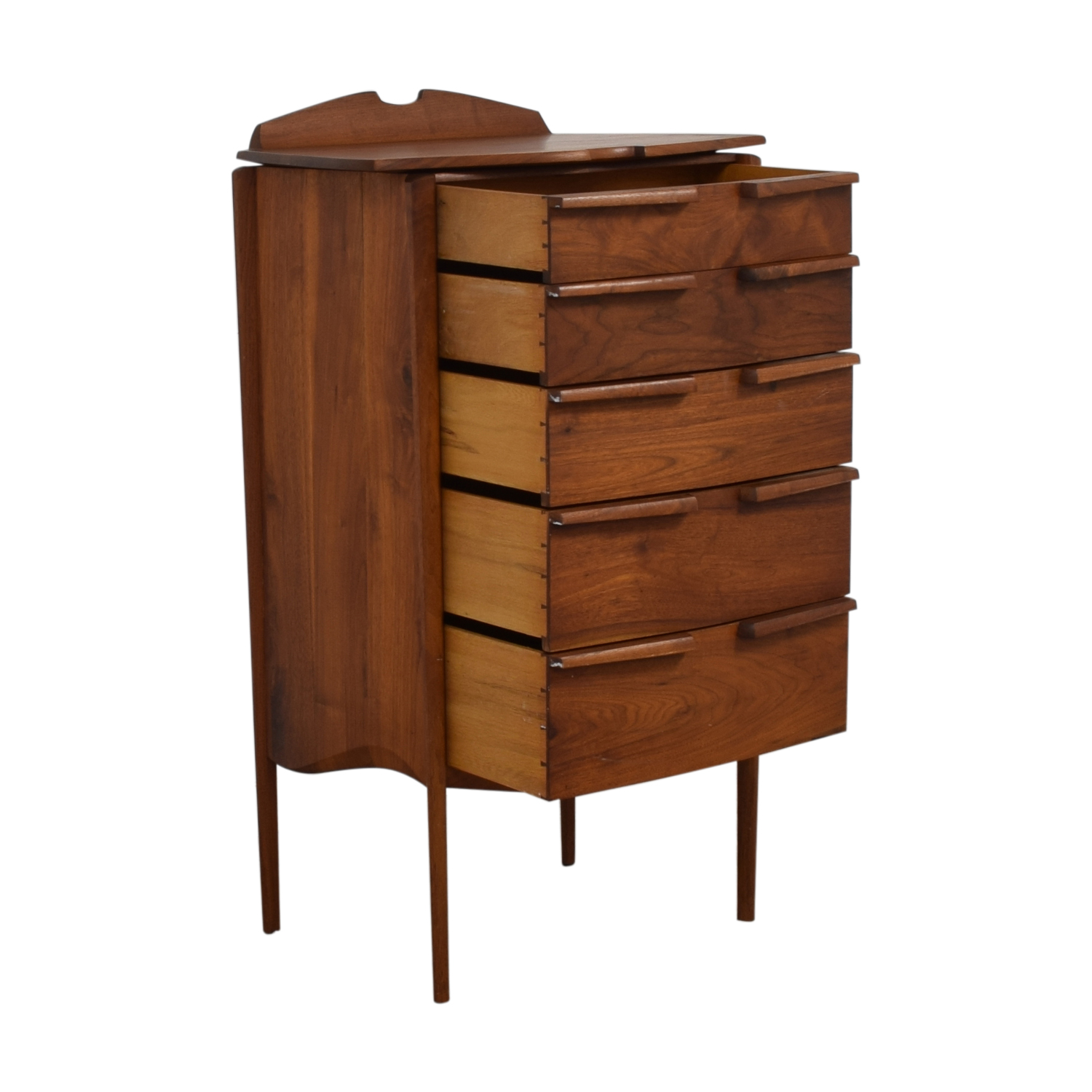 Mid-Century Five-Drawer Tall Dresser coupon