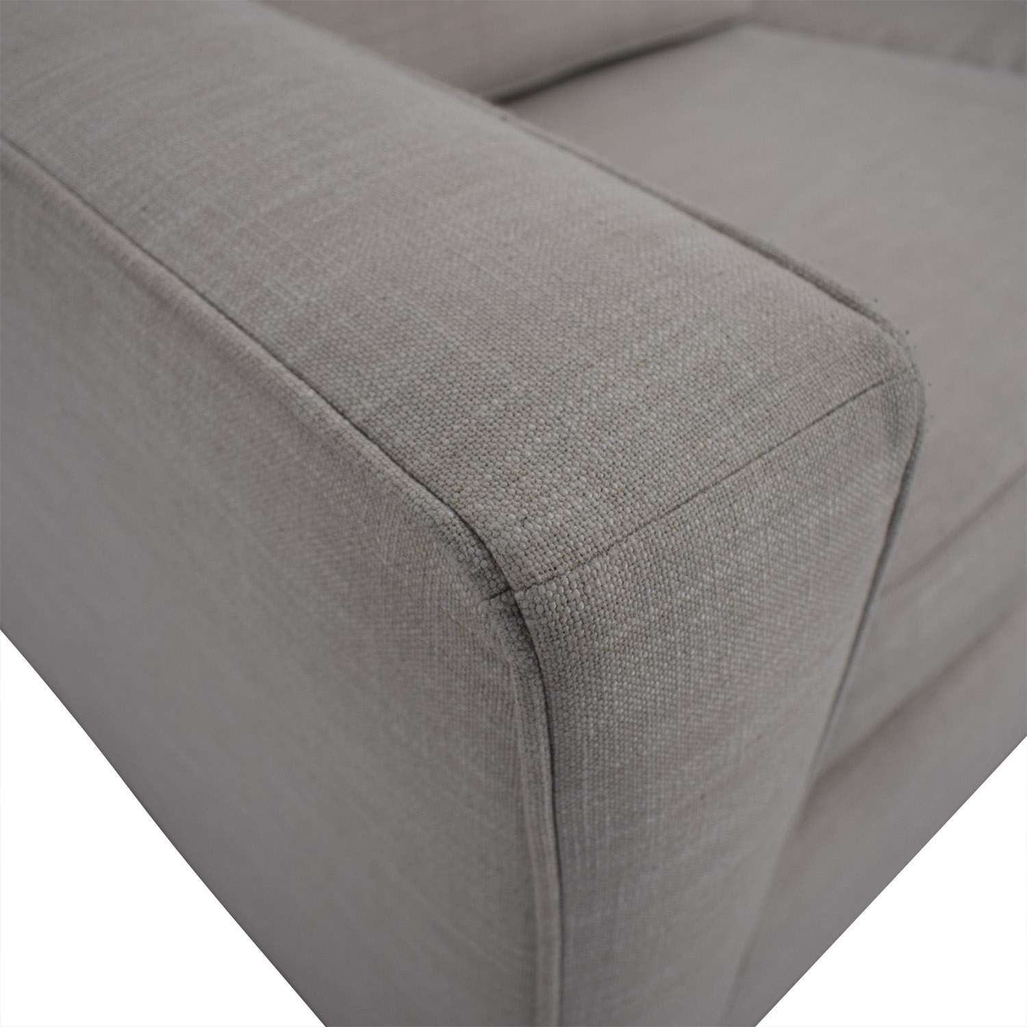 buy West Elm Henry Grey Loveseat with Twin Pullout Convertible West Elm Loveseats