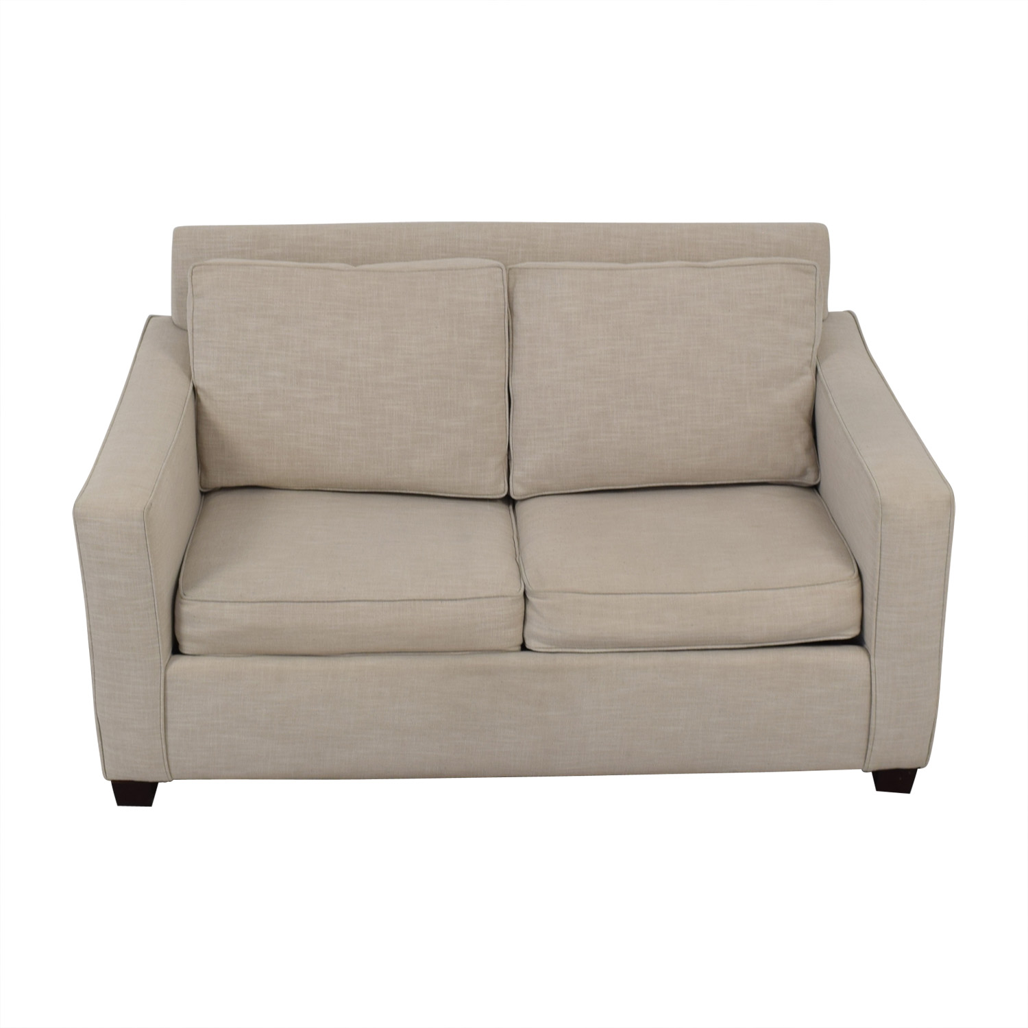 Remarkable 82 Off West Elm West Elm Henry Grey Loveseat With Twin Pullout Convertible Sofas Gamerscity Chair Design For Home Gamerscityorg