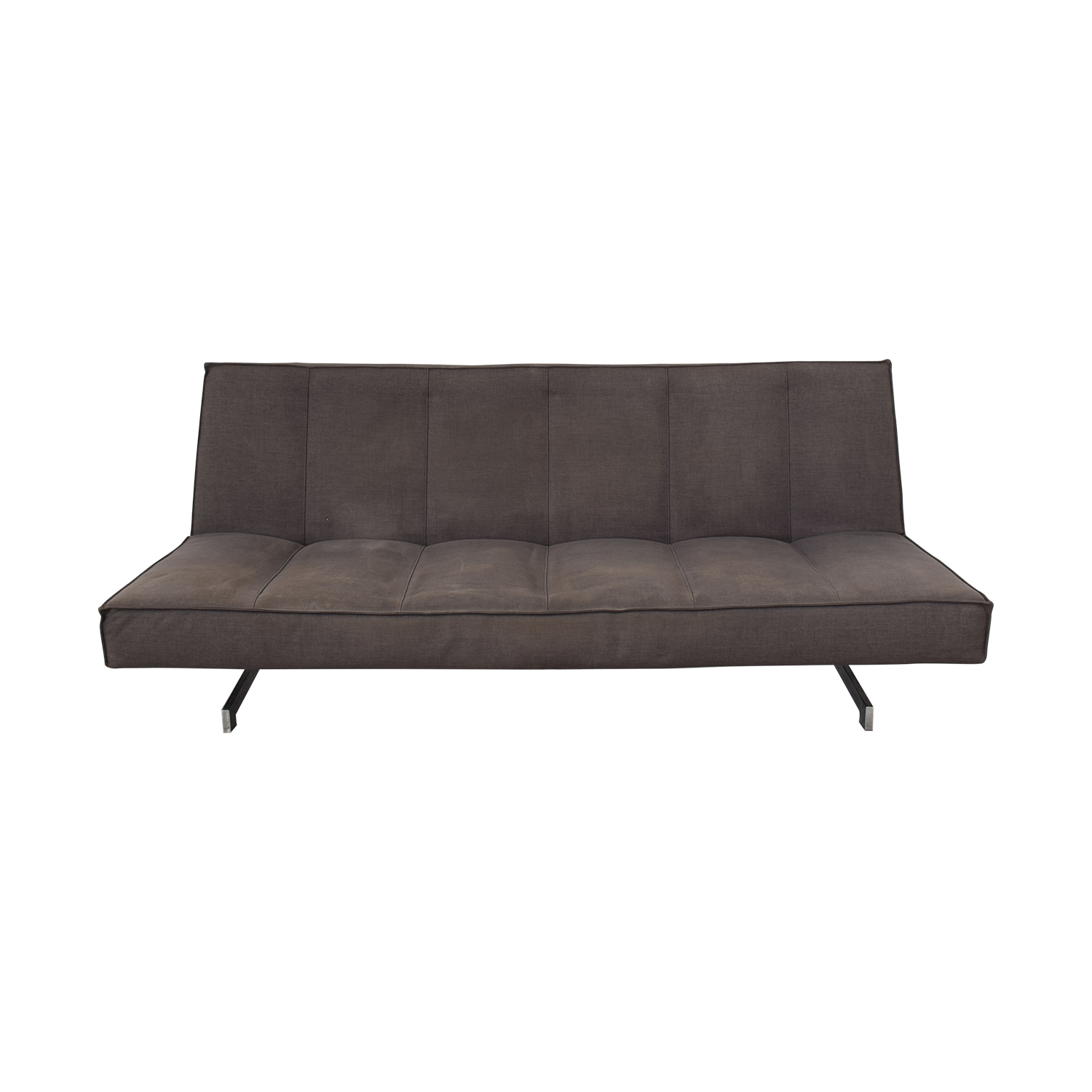 CB2 CB2 Flex Gravel Tufted Sleeper Sofa dimensions