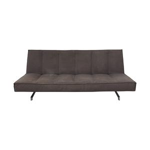 CB2 CB2 Flex Gravel Tufted Sleeper Sofa dimensions