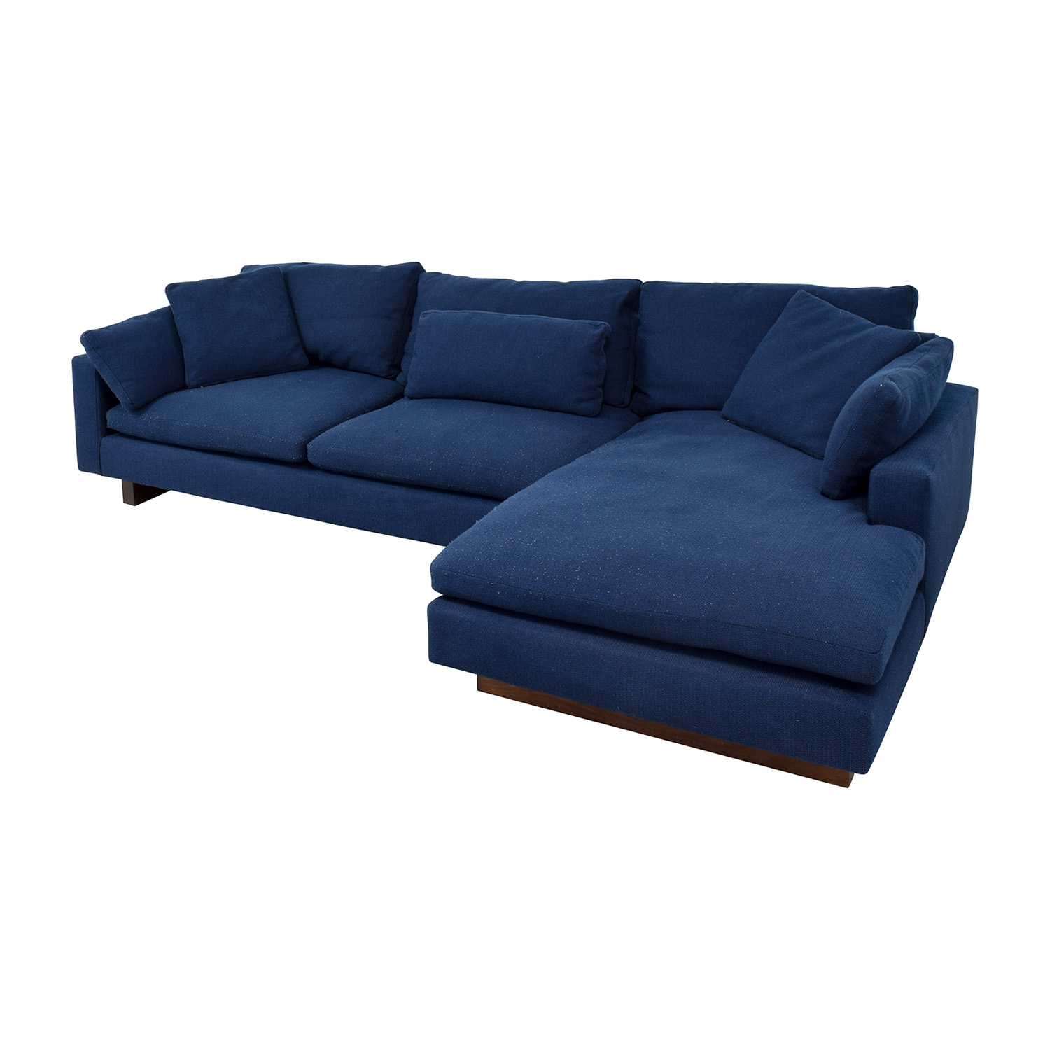 West Elm West Elm Indigo Chaise Sectional