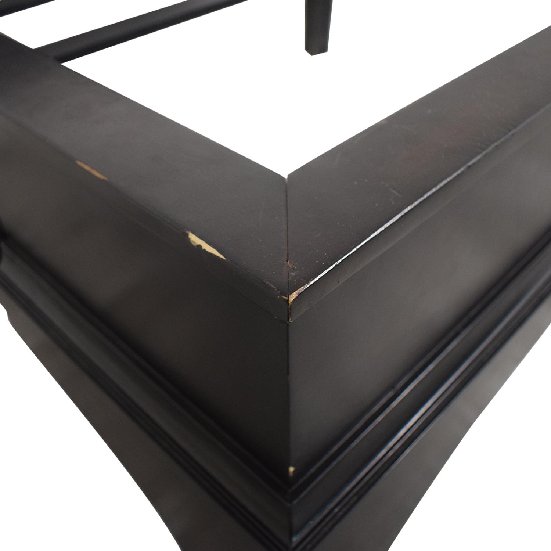 Restoration Hardware Restoration Hardware Portman Sleigh Queen Bed Frame nj
